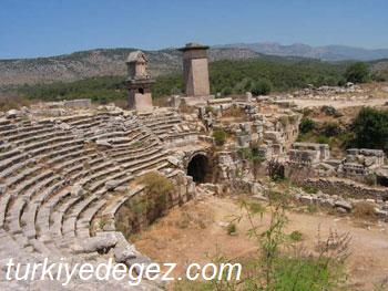 Xanthos Antik Tiyatrosu