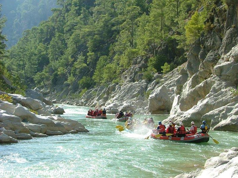 Dalaman Çayı (Rafting).